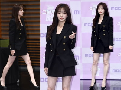 송하윤, 하얗다 못해  투명한 피부 '시선집중'