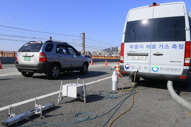 미세먼지 대응 자동차 배출가스 단속