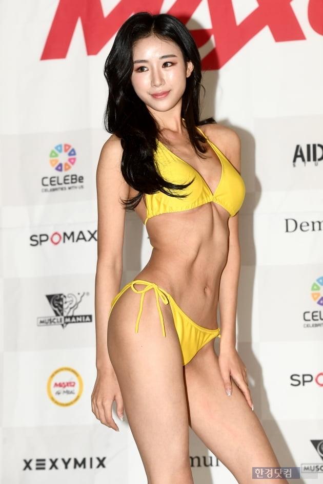 HK직캠|권예지, 운동으로 가꾼 아름다운 몸매…'머슬마니아 미즈비키니 그랑프리의 위엄'