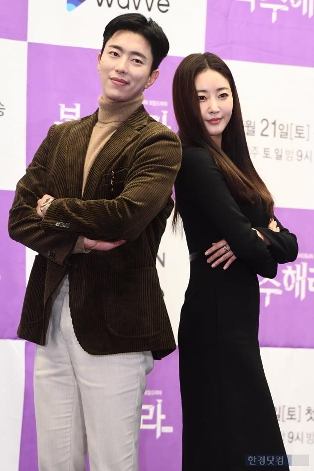 [포토] 윤현민-김사랑, '비주얼 커플~'