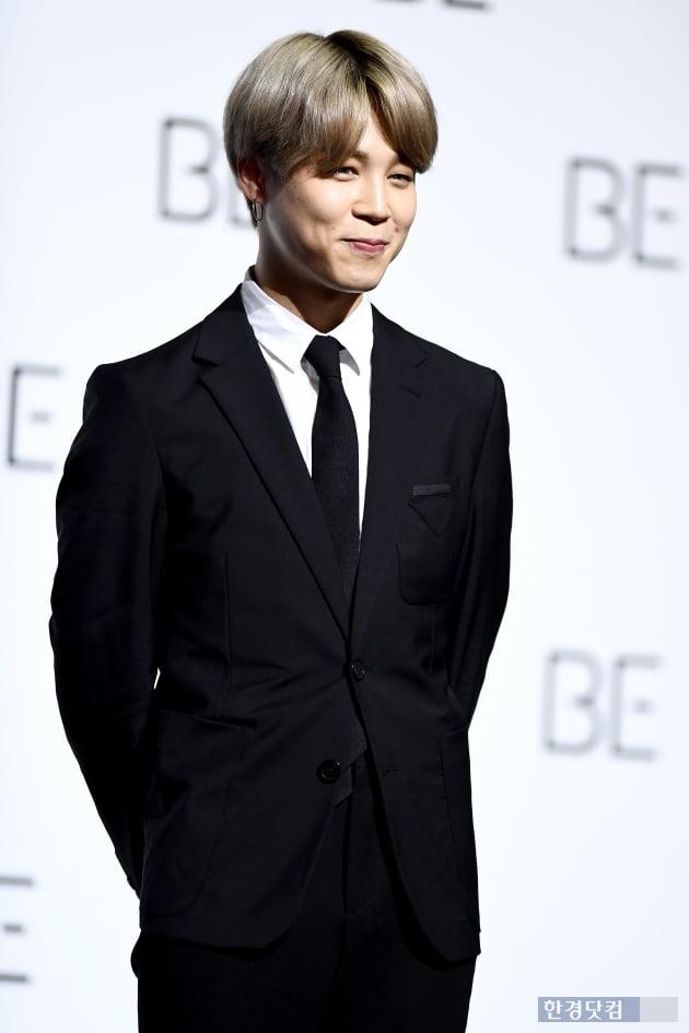 입덕+직캠|방탄소년단 지민, 수줍에 웃는 모습이 귀여워…지민 팬만 보세요 (BE 기자간담회)