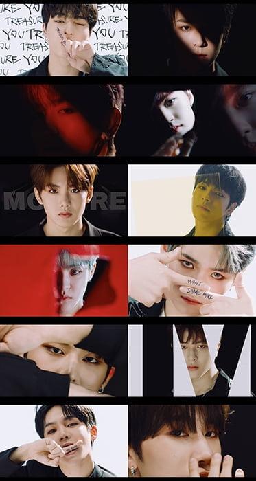 트레저, '음 (MMM)' 콘셉트 비디오 공개…베일 벗은 12인 완전체 비주얼 `강렬 아우라`