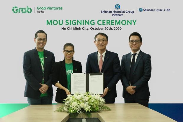 신한금융그룹, 베트남 그랩(Grab)과 스타트업 육성 및 디지털 금융 협업을 위한 MOU 체결
