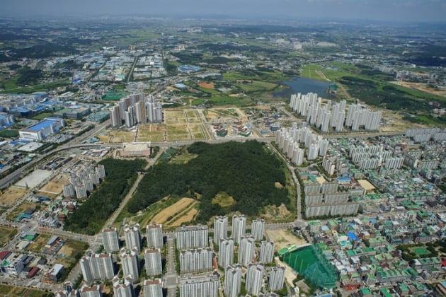 정부가 집값 상승으로 모니터링 강화하겠다고 밝힌 충남 천안시 일대. (사진=게티이미지뱅크 )