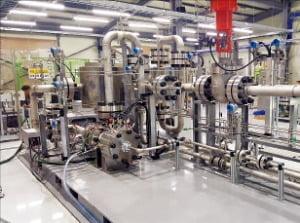원자력연구원이 개발한 초임계 이산화탄소 발전시스템.  /원자력연 제공