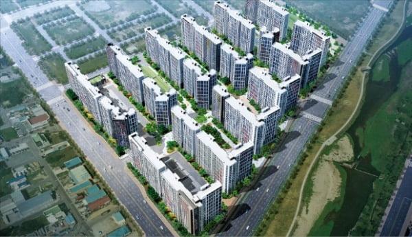 힐스테이트 포항, 단지 앞 수변공원…친환경 '그린라이프' 아파트