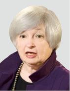 바이든號 첫 재무장관에 옐런 전 Fed 의장