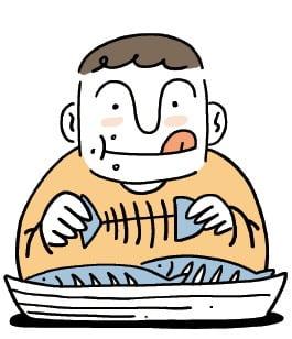 [생활속의 건강이야기] 생선을 건강하게 먹는 법
