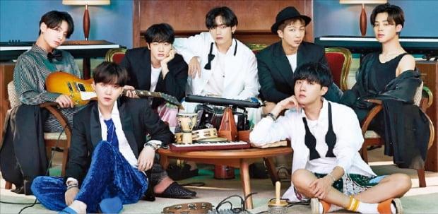 BTS, 빌보드 앨범차트 5번째 정상 '새 역사'