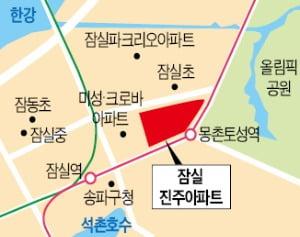 잠실진주 건축심의 통과…내년 7월 '로또 분양'