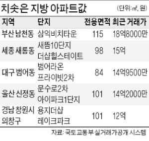 """부산 삼익비치 18.8억 거래…""""대치 은마가 싸 보이네요"""""""