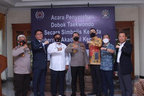 인도네시아 경찰대, 태권도 필수과목 채택…현대차 후원
