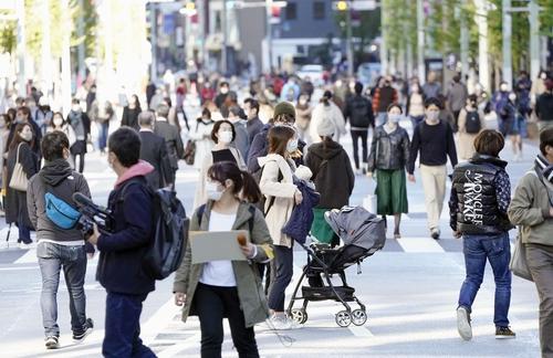 일본 코로나 중증환자 440명…2주 만에 2배로 급증