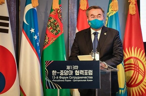 카자흐스탄 틀례우베르디 무흐타르(TLEUBERDI Mukhtar) 외무부 장관 한국방문