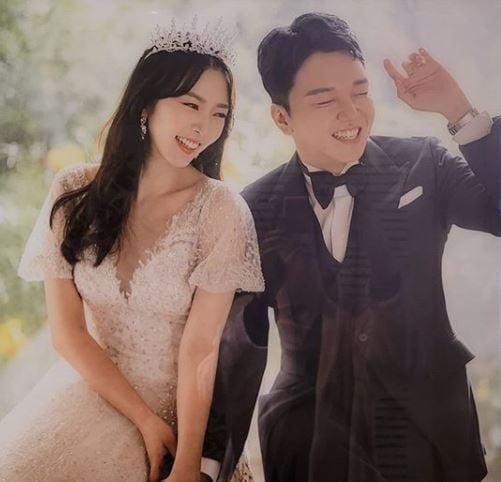 배슬기, 웨딩화보 공개 /사진=SNS