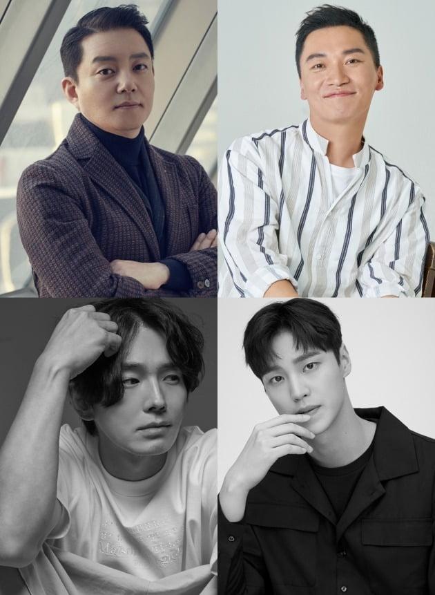 이범수, 조재윤, 온주완, 이태환이 MBC에브리원 예능 '바다경찰2'에 출연한다. / 사진제공=각 소속사