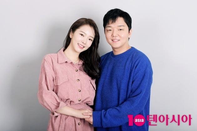 """[단독] 배슬기♥심리섭 결혼 """"평생 변치 않겠다…자녀계획? 힘닿는 데까지""""(인터뷰)"""