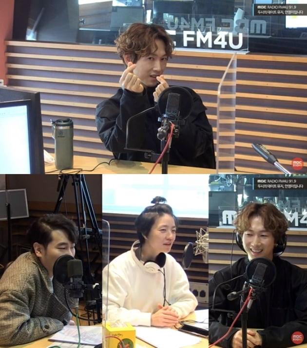 사진='뮤지 안영미의 두시의 데이트' 보이는 라디오 캡처