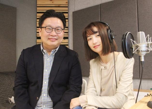 이번 영상을 기획한 서경덕 교수와 내레이션을 재능기부한 배우 박하선/사진=서경덕 교수 제공