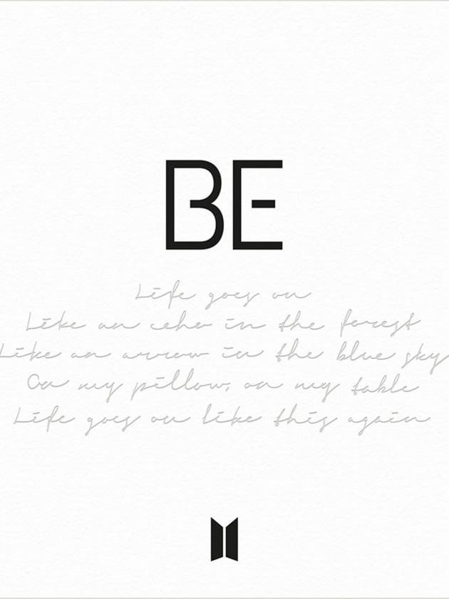 방탄소년단_BE (Deluxe Edition)_트랙리스트/ 사진 = 빅히트엔터테인먼트 제공