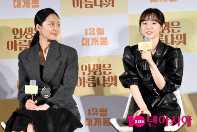 [TEN 포토] '인생은 아름다워 염정아-박세완 '미모가 닮은 두 배우'