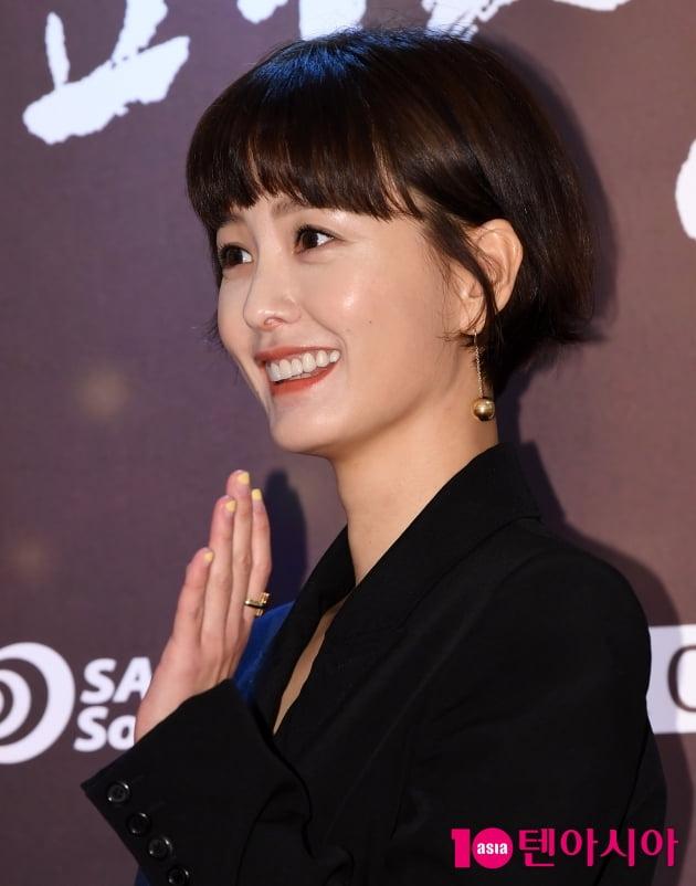 [TEN 포토] '영평상' 정유미 '단발병 부르는 미모'