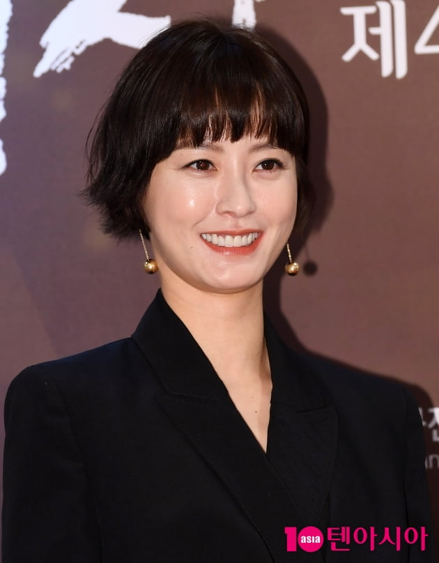 [TEN 포토] '영평상' 정유미 '아름다운 미소'
