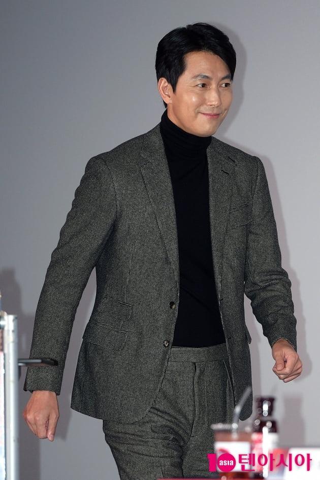 [TEN 포토] '청룡영화상' 정우성, '쁘띠한 등장'