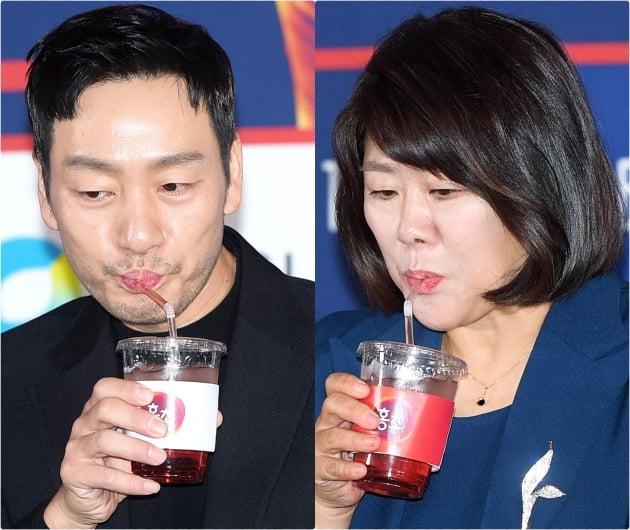 [B컷 방출] '청룡영화상' 음료, 올해도 피해자 속출…'홍초에 감전됐어요'