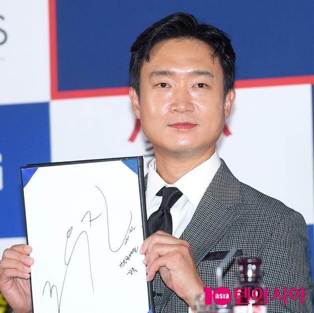 [TEN 포토] '청룡영화상' 조우진, '청룡을 빛낸 배우'