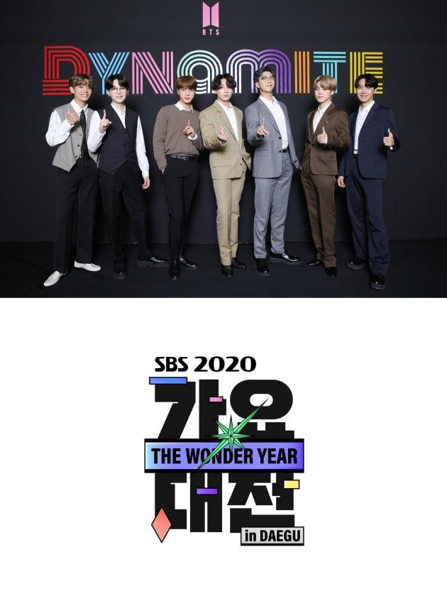 그룹 방탄소년단이 '2020 SBS 가요대전'에 출격한다./ 사진=빅히트엔터테인먼트, SBS 제공