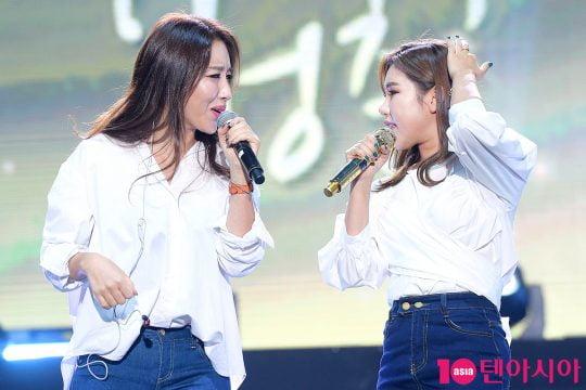 """[B컷 방출] 가수 숙행, """"홍자와 걸그룹 데뷔할 뻔…송가인과도 과거 인연"""""""