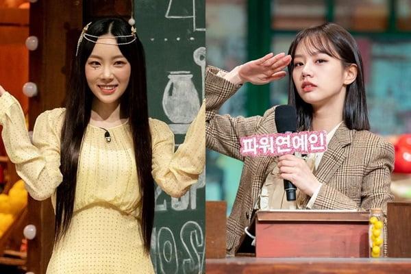 '놀토'에 합류한 가수 태연(왼쪽)과 하차한 혜리/ 사진='놀토' 공식 인스타그램