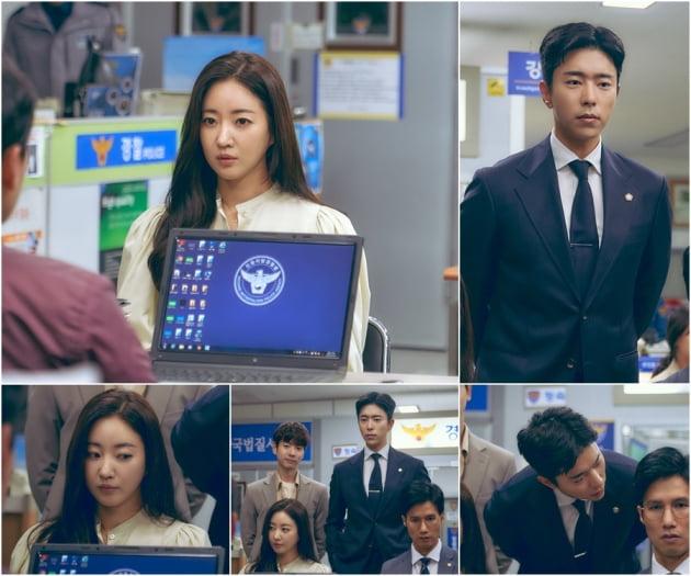 '복수해라' 김사랑-윤현민 경찰서 만남./ 사진제공=TV조선