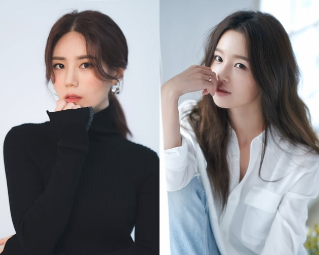 김연지(왼쪽), 남규리