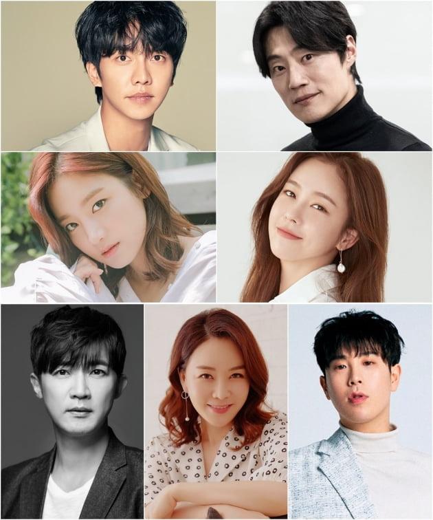 tvN 새 드라마 '마우스' 출연을 확정한 배우들/ 사진= 각 소속사 제공