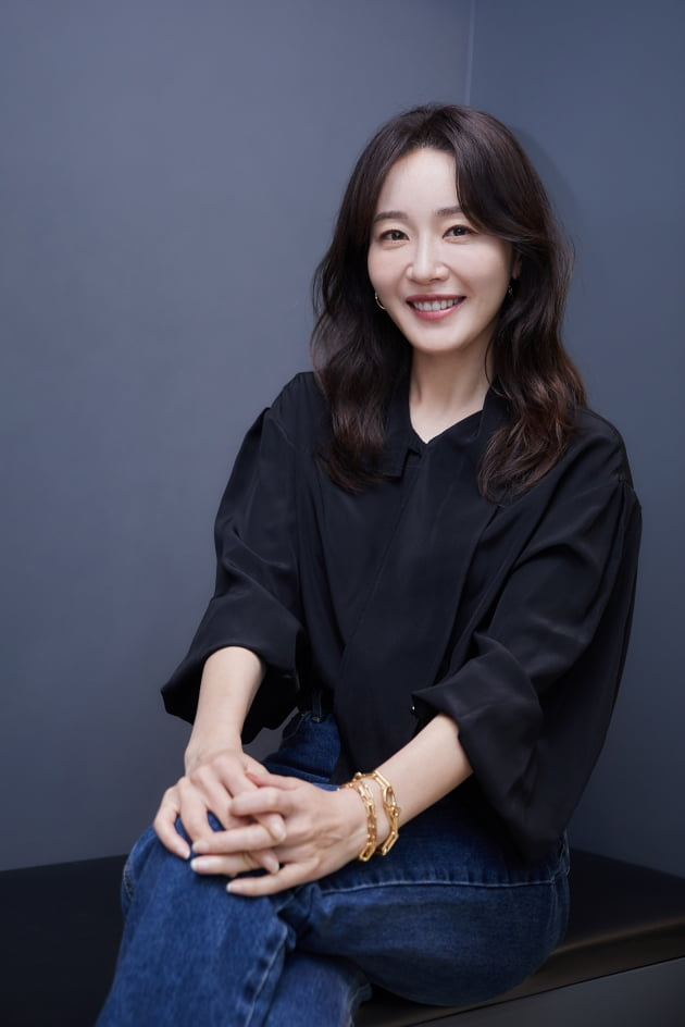 tvN 드라마 '산후조리원'에서 최고령 산모 오현진 역으로 열연한 배우 엄지원. /사진제공=씨제스 엔터테인먼트