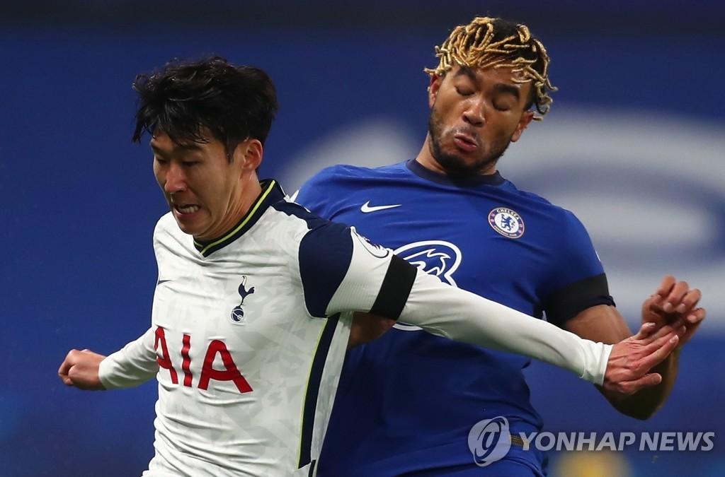 '손흥민 슈팅 0개' 토트넘, 첼시와 0-0 무승부…선두 탈환