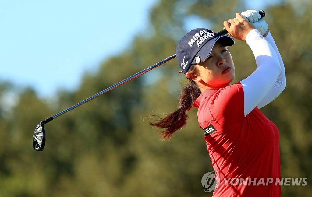 '버디만 5개' 김세영, 펠리컨 챔피언십 2R 단독 선두
