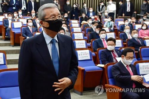 """[바이든 당선] 김종인 """"美 리더역할 강화 기대…北비핵화 중요""""(종합)"""