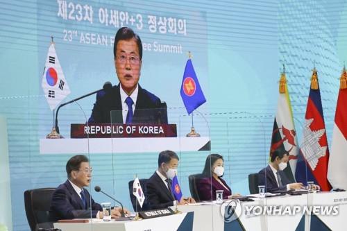 아세안+3, '경제·금융 회복력 정상성명' 채택…다자무역 지지