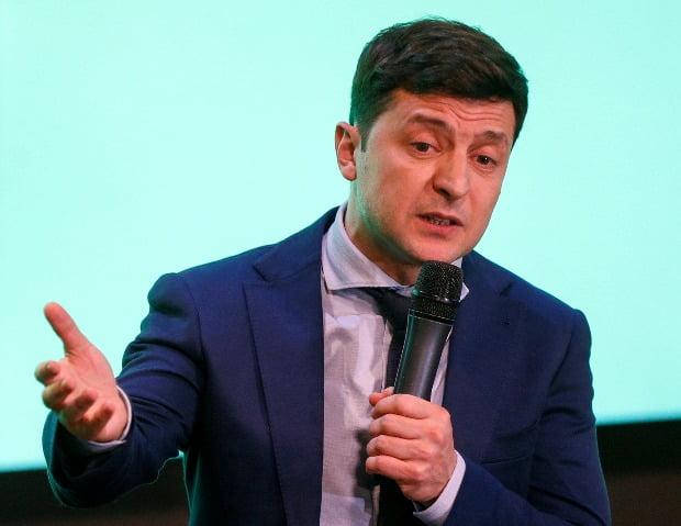 우크라이나의 코미디언 출신 정치 신인 볼로디미르 젤렌스키 대통령 후보.(사진=연합뉴스)