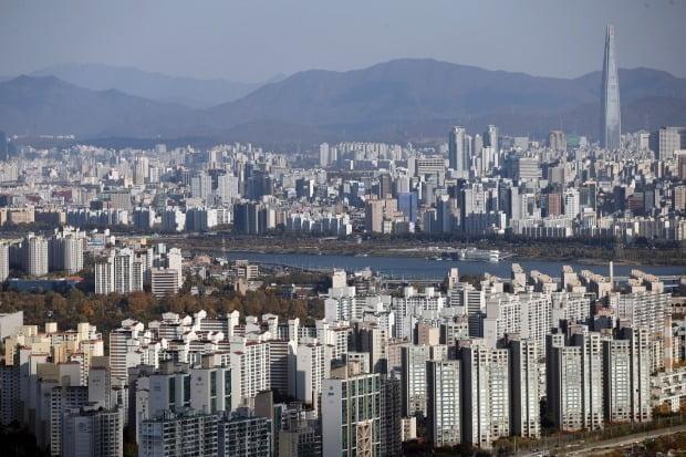 서울 시내 아파트 모습. /연합뉴스