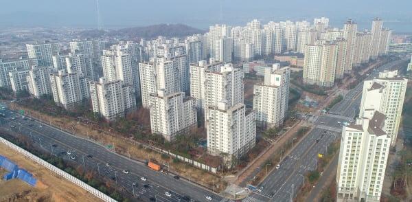 경기 김포의 한 아파트 단지 모습. 연합뉴스