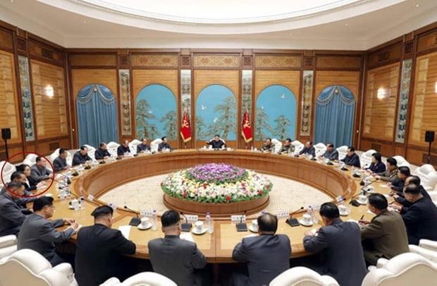 북한은 15일 김정은 국무위원장 주재로 당 중앙위원회 정치국 확대회의를 개최했다고 노동신문이 16일 보도했다. /사진=연합뉴스