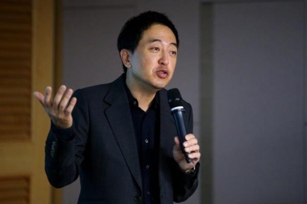 금태섭 전 의원이 지난 18일 국민의힘 초선의원 모임 '명불허전'에서 강연하고 있다. / 사진=연합뉴스