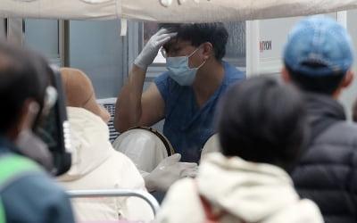 코로나 확진자 500명 폭증에…'바로 급락'