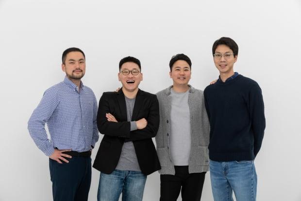 오진욱 리벨리온 CTO(왼쪽부터), 박성현 CEO, 신성호 공동창업자, 김효은 CPO. 리벨리온 제공