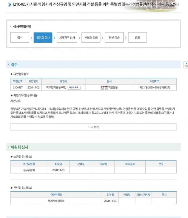 """범여권 마저 """"이탄희·박주민 사참법 발의해놓고 지지부진"""" 분통"""