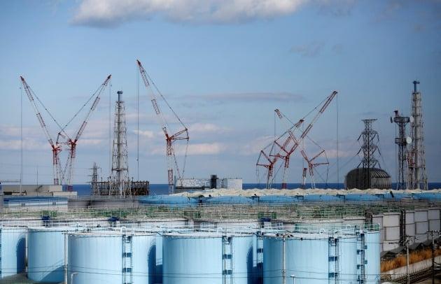 일본 후쿠시마 원자력발전소 모습.  /연합뉴스